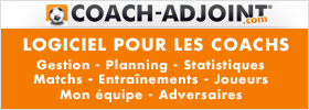 Coach Adjoint, logiciel de gestion effectif football