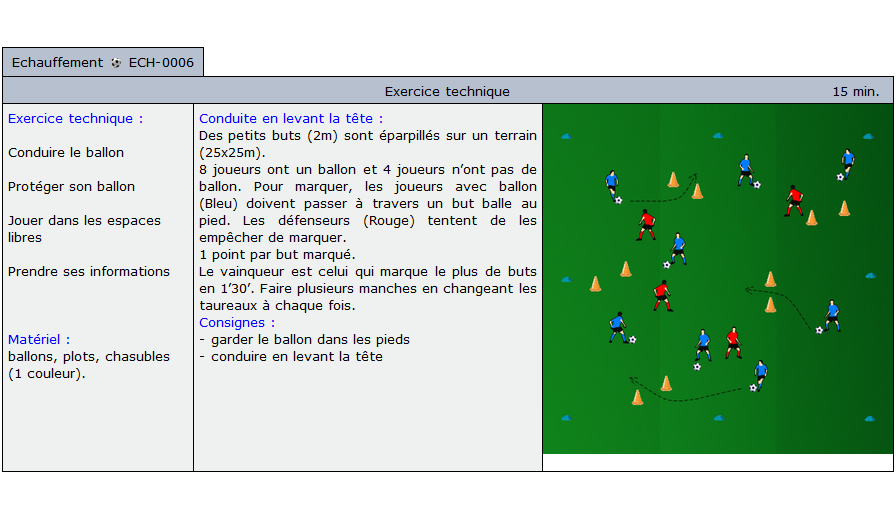 exercice echauffement football 1006