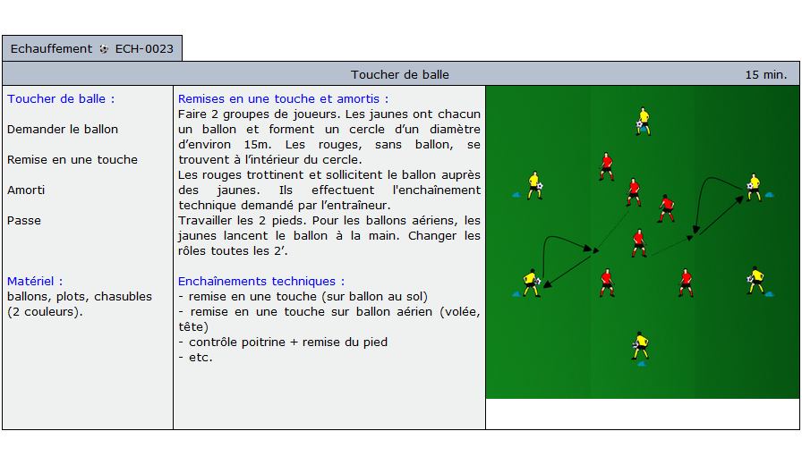 exercice echauffement football 1023