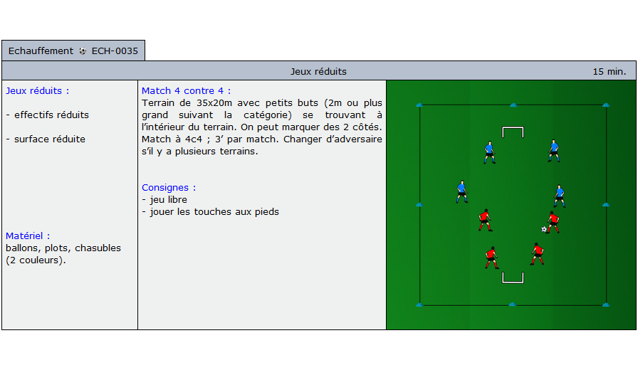 exercice echauffement football 1035